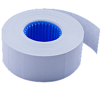 Ценник 26x16 мм (1000 шт 12 м) прямоугольный внутренняя намотка белый