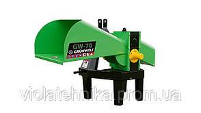Измельчитель веток GrunWelt GW-70-6 (55 мм, 6 ножей, 10 л.с., ВОМ)