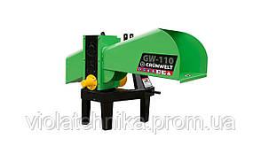Измельчитель веток GrunWelt GW-110-6 (90 мм, 6 ножей, ВОМ, 15 л.с.)