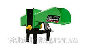 Измельчитель веток GrunWelt GW-130-8 (110 мм,8 ножей, ВОМ, 25 л.с.)