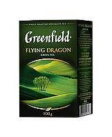 /Чай зеленый 100г лист Flying Dragon GREENFIELD