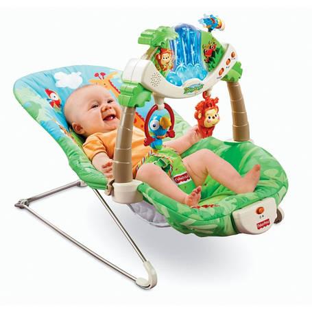 """Крісло-шезлонг """"Тропічний ліс"""" Fisher Price прокат в Харкові, фото 2"""