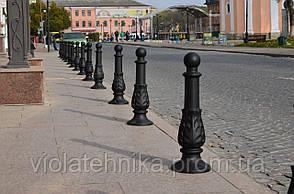 Столбик тротуарный парковочный GrunWelt (анкерный)