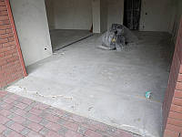 Износостойкое декоративное покрытие (цветные чипсы) с противоскользящей наружной въездной полосой (материал То