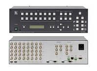 Kramer VP-727XL Сдвоенный масштабатор видео и графики / коммутатор без подрывов сигнала. 8 входов