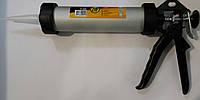 Пистолет-туба для силикона, клея, герметиков 300 мл 21-330, фото 1