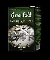 /Чай черный 100г лист Earl Grey Fantasy GREENFIELD