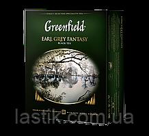 /Чай черный 2г*100 пакет Earl Grey Fantasy GREENFIELD