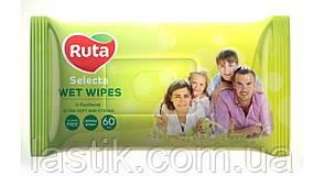 /Салфетки влажные Ruta Selecta для всей семьи 60 шт