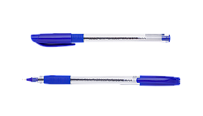 #^Ручка масляная SLIDE GRIP 05 мм рез грип трехгркорпус синие чернила