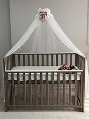Балдахін для дитячого ліжечка троянда
