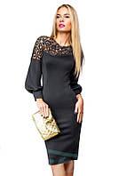 Очень Эффектное платье с перфорацией на молнии S M L XL, фото 1