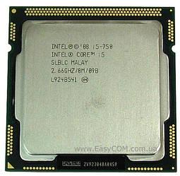 Процесор Intel Core i5-750, 4 ядра/4 потоку