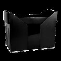 Картотека для подвесных файлов черная пластик