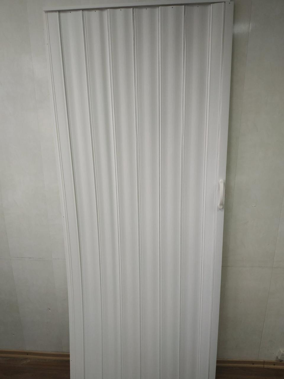 Ширма гармошка межкомнатная глухая, Белый ясень №1, 820х2030х0,6мм