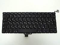 """Клавиатура для APPLE A1278 Macbook Pro MB467 13.3"""" (RU BLACK с подсветкой, Вертикальный Enter). Оригинал."""