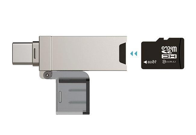 перехідник micro usb usb microSD