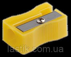 @$Точилка прямоугольная BLOCK JOBMAX  1 отв пластик корпус ассорти