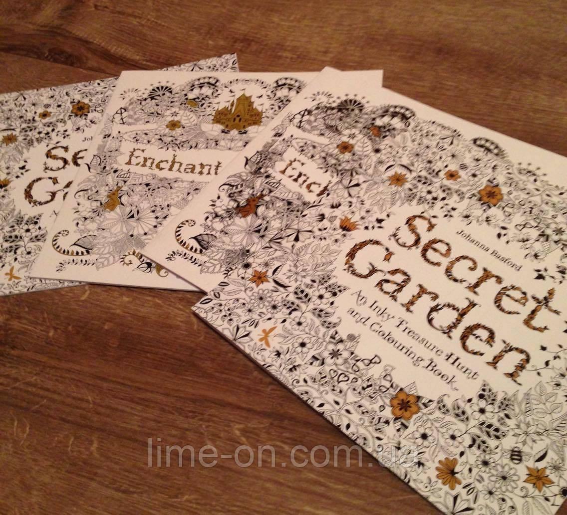 Раскраска книга антистресс, Secret Garden: продажа товаров ...