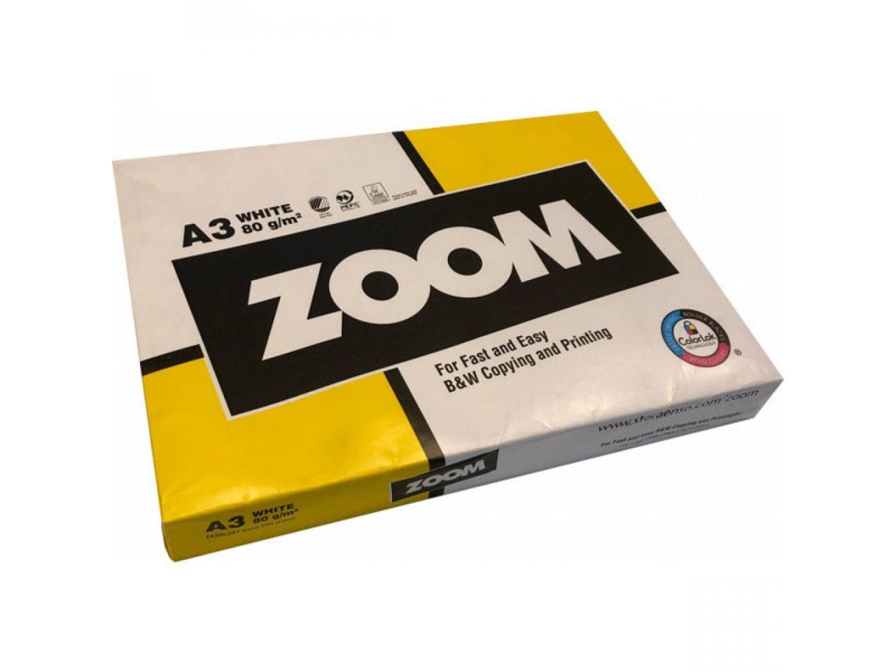 Бумага ZOOM формат A3