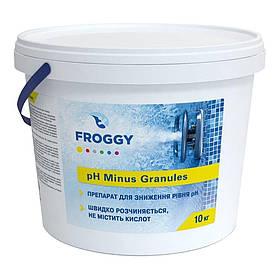 Froggy «рН- Minus Granules» препарат для снижения уровня pH в гранулах (10 кг)