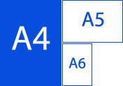 Листовка А4 формат (210х297), 4+4, 130г/м2