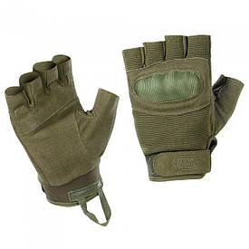 M-Tac перчатки тактические беспалые Assault Tactical Mk.3 олива
