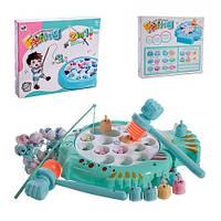 Детская настольная игра рыбалка 2в1