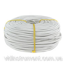 ElectroHouse Провод  в текстильной оплетке 2х0,5 белый