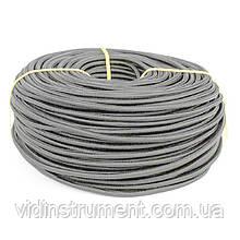 ElectroHouse Провод  в текстильной оплетке 2х0,5 серый