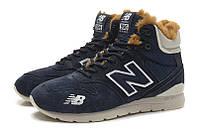 Зимние кроссовки New Balance 996  синие