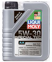 Моторное масло синтетика LIQUI MOLY 5W-30 1L SPECIAL TEC АА Honda, Hyundai, Kia, Mazda, Mitsubishi, Nissan, GM