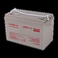 УЦ Аккумулятор гелевый LogicPower LPM-GL 12 - 100 AH, фото 1