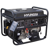 Однофазный бензиновый генератор HYUNDAI HHY 7000FE(5,5 кВт)