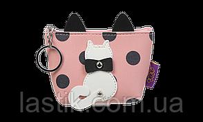 #Кейс для монет PUSSY CAT 13x105x55 см розовый (декор: кот с подвижным хвостом)