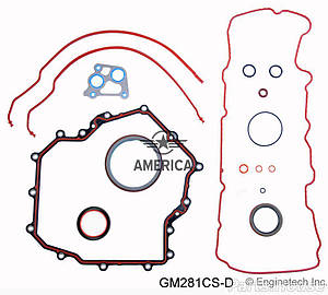 Нижний набор прокладок ENGINETECH GM281CSD Cadillac Seville Cadillac Deville Pontiac Bonneville