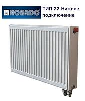 Стальной радиатор отопления (батарея) Korado 300х500, тип 22 нижнее подключение