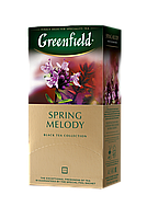 /Чай черный 15г*25 пакет Spring Melody GREENFIELD
