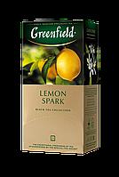 /Чай черный 15г*25 пакет Lemon Spark GREENFIELD