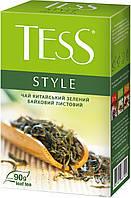 /Чай зеленый 90г лист Style TESS