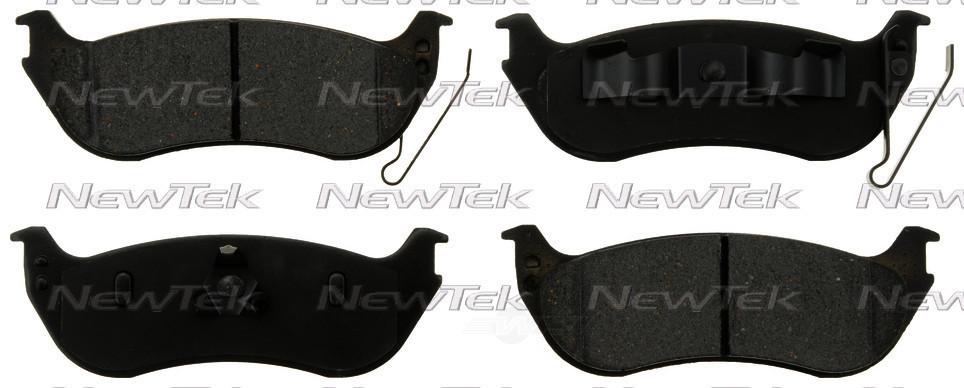 Колодки тормозные задние, дисковые, керамические AUTOEXTRA AXMD1109