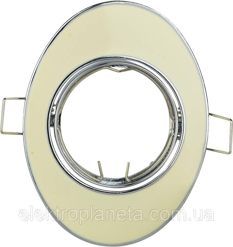 Точечный светильник MR16 618A WH белый