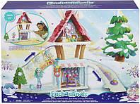 Игровой набор зимний дом замок Кролика Беви Лыжное шале Энчантималс Enchantimals Hoppin Ski Chalet GRW92