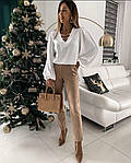 Женская блузка с цепочками (Батал), фото 2