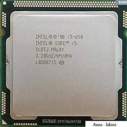 Процесор Intel Core i5-650, 2 ядра/4 потоку