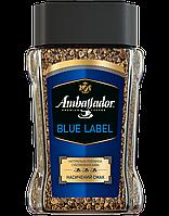 /Кофе растворимый 95 г*6 стекл банка Blue Label AMBASSADOR