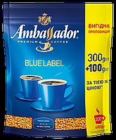 /Кофе растворимый 400*10 пакет Blue Label AMBASSADOR