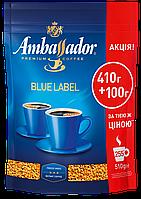 /Кофе растворимый 510г*10 пакет Blue Label AMBASSADOR