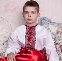 Вышиванка  для мальчика с красивой вышивкой , фото 1