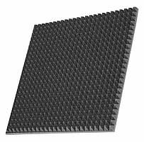 Шумоизоляция автомобиля Off Sound Pyramid s 30 50х50 см Черный графит